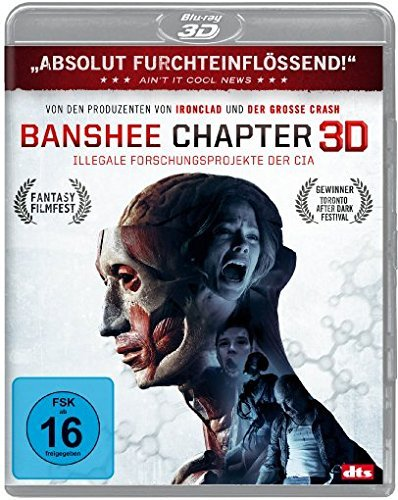 Banshee Chapter 3D Illegale Forschungsprojekte der CIA Blu-ray Cover