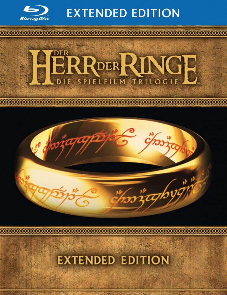 Der Herr der Ringe Spielfilm Trilogie Blu-ray Review Cover