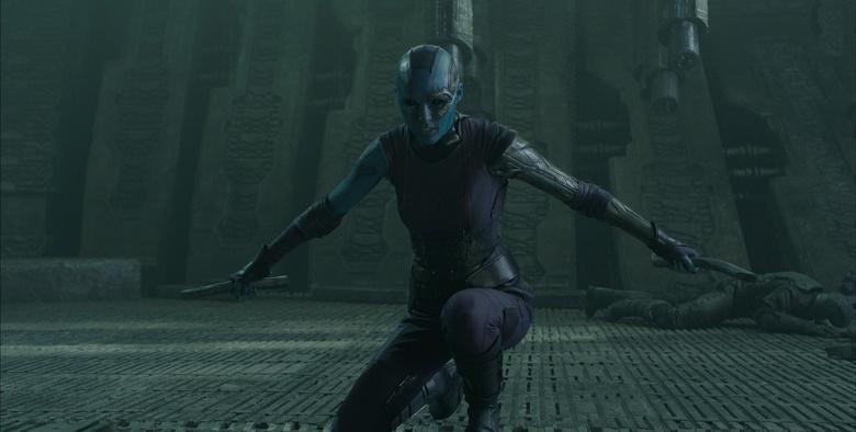 Nebula, Gamoras Quasi-Schwester erweist sich als zähe Gegnerin
