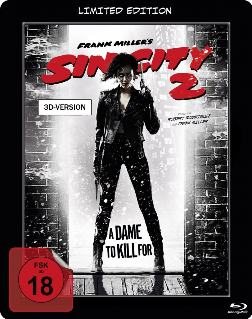 Sin City 2 A Dame to Kill for Blu-ray Cover