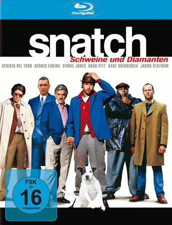 Snatch Schweine und Diamanten Blu-ray Review Cover
