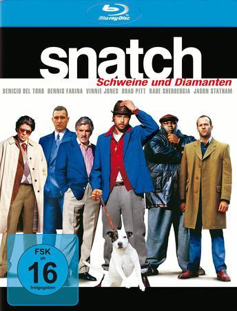 Snatch Schweine und Diamanten Blu-ray Review Cover