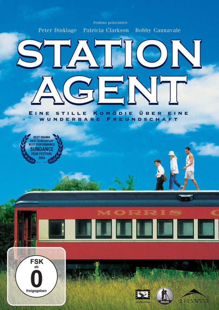 Station Agent DVD Review Cover