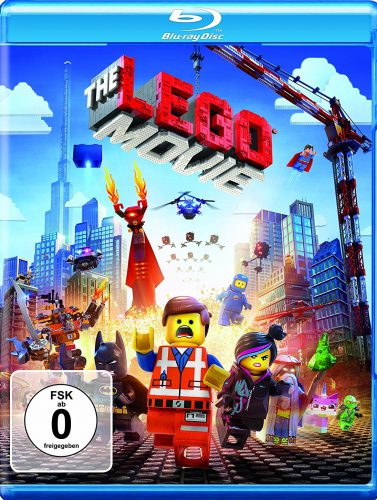 The Lego Movie Blu-ray Review Cover