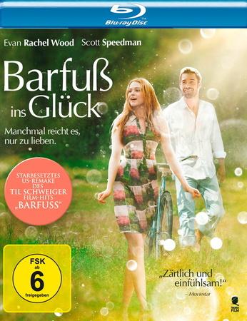 Barfuß ins Glück - Machmal reicht es, nur zu lieben Blu-ray Cover