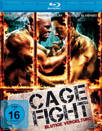Cage Fight Blutige Vergeltung Blu-ray Review Cover