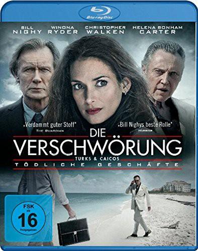 Die Verschwörung Tödliche Geschäfte Blu-ray Review Cover