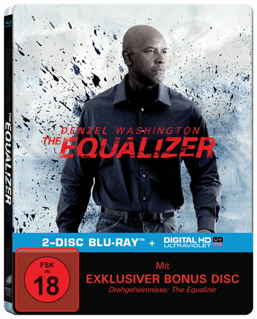 Equalizer Steelbook Blu-ray Review Cover
