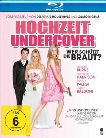 Hochzeit Undercover Wer schützt die Braut Blu-ray Review Cover