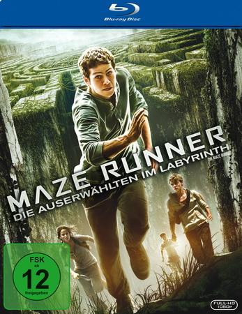 Maze Runner - Die Auserwählten im Labyrinth Blu-ray Review Cover