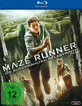 Maze Runner - Die Auserwählten im Labyrinth Blu-ray Review Cover