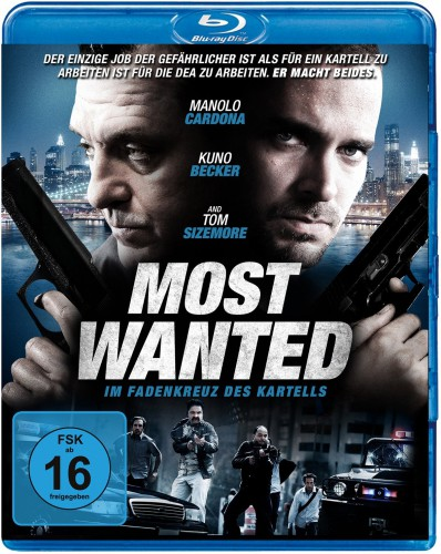 Most Wanted - Im Fadenkreuz des Kartells Blu-ray Review Cover