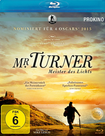 Mr. Turner Meister des Lichts Blu-ray Review Cover