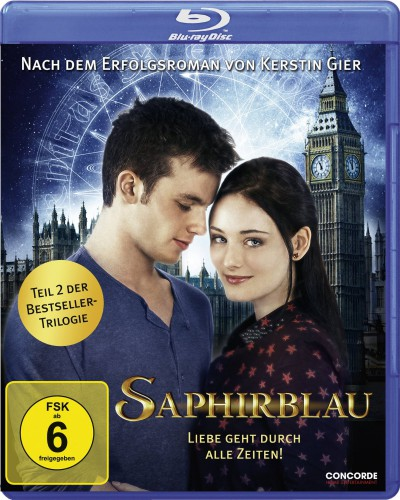 Saphirblau Blu-ray Review Cover
