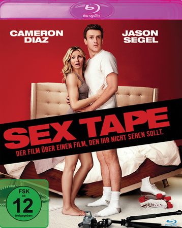 Sex Tape Blu-ray Review Cover