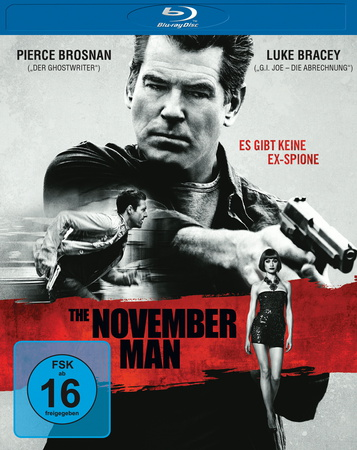 The November Man blu-ray review cover