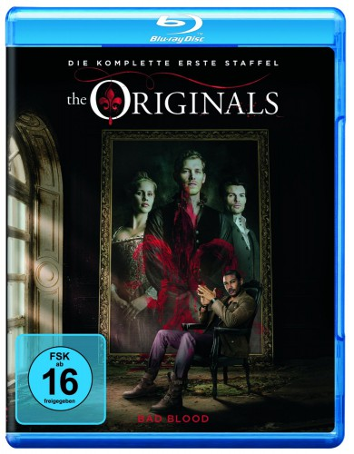The Originals kpl. erste Staffel Blu-ray Review Cover