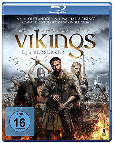 Vikings die berserker Blu-ray Review Cover