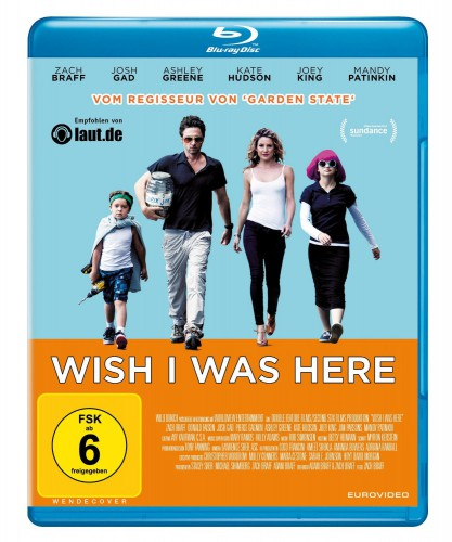 Wish i was here Blu-ray Review Cover