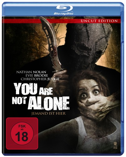 You are not alone Jemand ist hier blu-ray review cover
