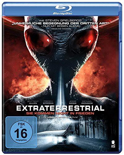 extraterrestrial sie kommen nicht in frieden Blu-ray Review Cover