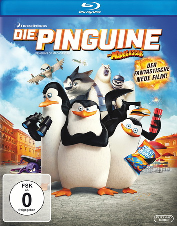 Die Pinguine aus Madagascar Blu-ray Review Cover