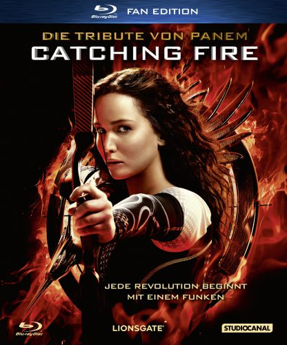 Die Tribute von Panem - Catching Fire Blu-ray Review Cover