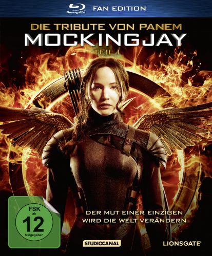 Die Tribute von Panem - Mockingjay 1 Blu-ray Review Cover