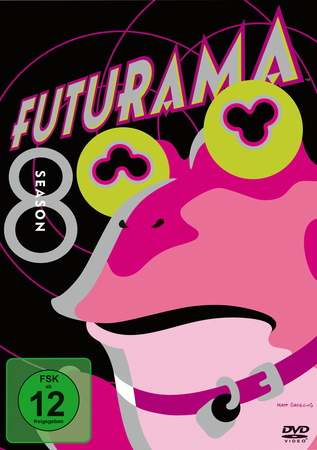 Futurama Season Staffel 8 DVD Review Cover