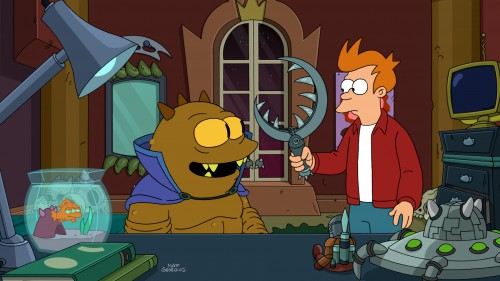 Futurama Season Staffel 8 DVD Review Szene 2