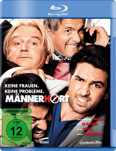 Männerhort Blu-ray Review Cover