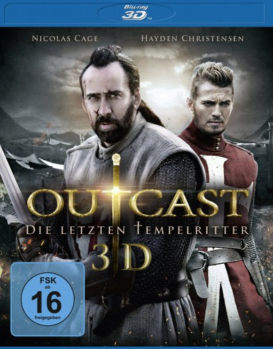Outcast Die letzten Tempelritter 3D Blu-ray Review Cover