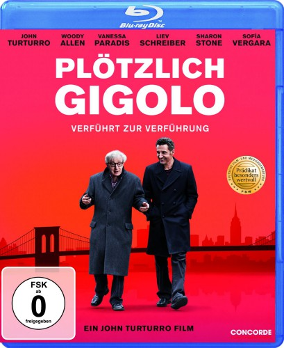 Plötzlich Gigolo Blu-ray Review Cover