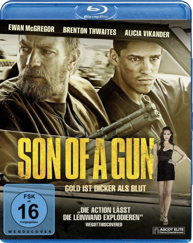 Son of a Gun Gold ist dicker als Blut Blu-ray Review Cover