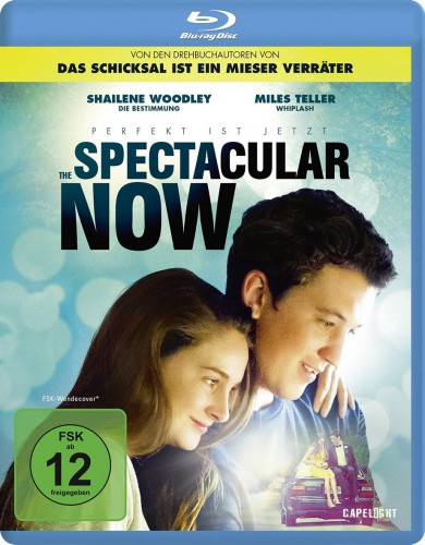 Spectacular Now Perfekt ist jetzt Blu-ray Review Cover