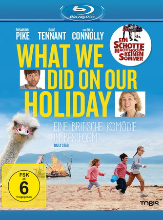 What We Did on Our Holiday Blu-ray Review Cover