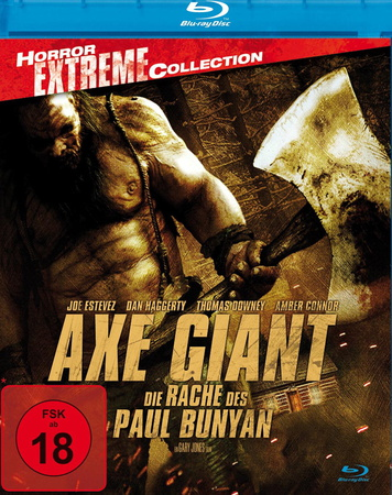 Axe Giant Die Rache des Paul Bunyan Blu-ray Review Cover