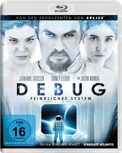 Debug Feindliches System Blu-ray Review Cover