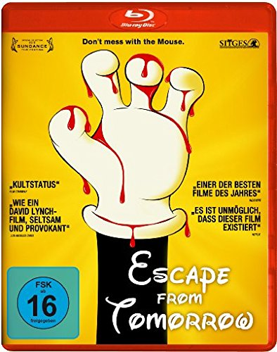 Escape from Tomorroa Blu-ray Review Cover