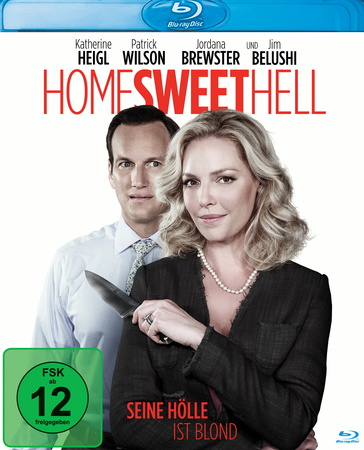 Home Sweet Hell Seine Hölle ist blond Blu-ray review cover