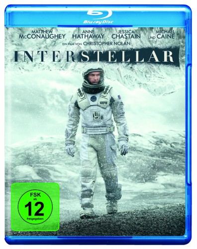 Interstellar Blu-ray Review Cover