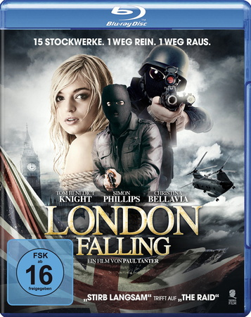 London Falling Blu-ray Review Cover