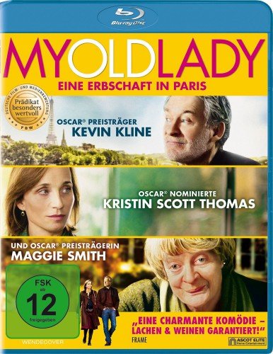 My old Lady eine Erbschaft in Paris Blu-ray Review Cover