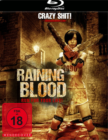 Raining Blood Run for your life Blu-ray Review Cover