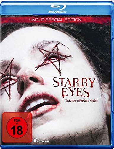 Starry Eyes Träume erfordern Opfer Blu-ray Review Cover