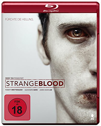 Strange Blood fürchte die Heilung Blu-ray review cover