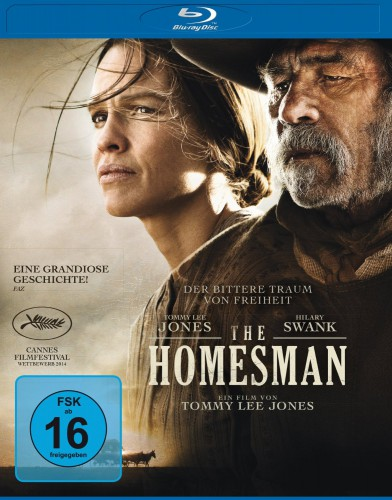 The Homesman Blu-ray Review Cover