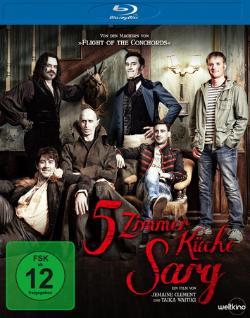 5 Zimmer Küche Sarg Blu-ray Review Cover