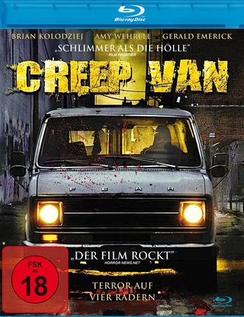 Creep Van Terror auf vier Rädern Blu-ray review cover