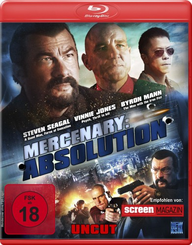 Mercenary Absolution Blu-ray Review Cover